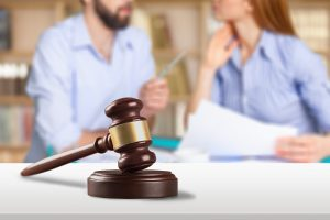 Couple-Talking-with-Gavel