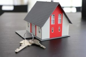 Model of Home and Keys