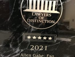 Madeline Member of Lawyers of Distinction for 2021