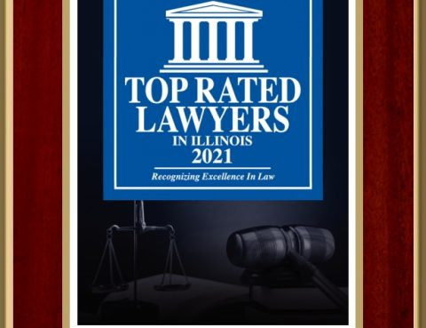 Top Rated Lawyers in Illinois 2021 Award